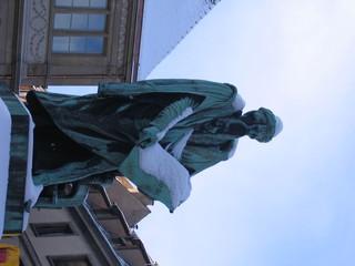 Statue de Johannes Gutenberg