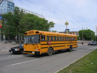 Bus de transport scolaire - Montréal