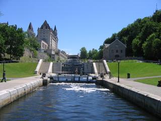 Le canal Rideau - Ottawa