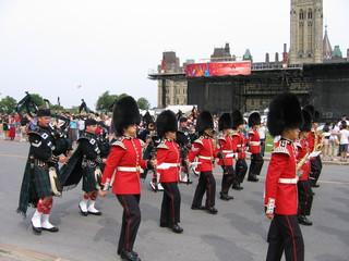 Défilé sur la colline du parlement - Ottawa