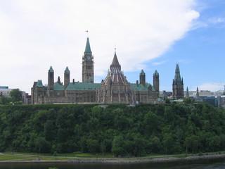 La colline du parlement - Ottawa