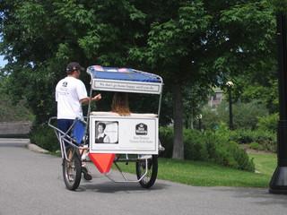 Un Vélotaxi - Ottawa