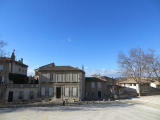 Habitations autour de la place du Palais des Papes