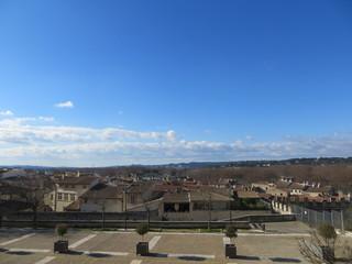 La vue depuis le musée du Petit Palais