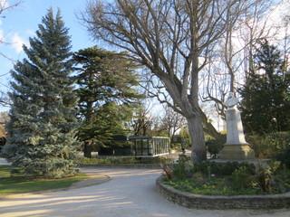 Statue de Paul Saïn au jardin des Doms