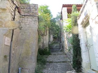 Ruelle de la cité médiévale - Vaison-la-Romaine
