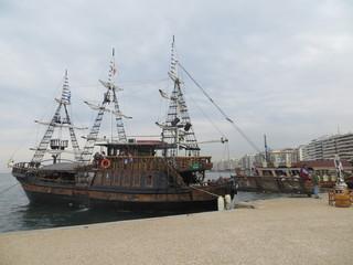 Le bateau pirate, bar café Arabella