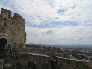 La tour Trigoniou au bout des remparts