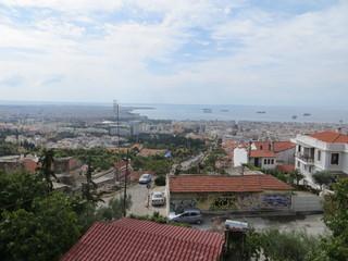 Vue de Thessalonique depuis la tour Trigoniou