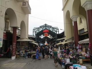 L'entrée de Kapani Market