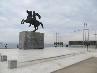 La statue d'Alexandre le Grand